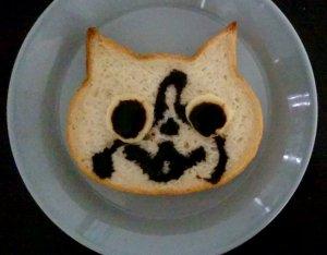 いろねこ食パン-ジバニャン?