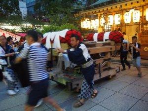 露天神社(お初天神)夏祭り-GOGO