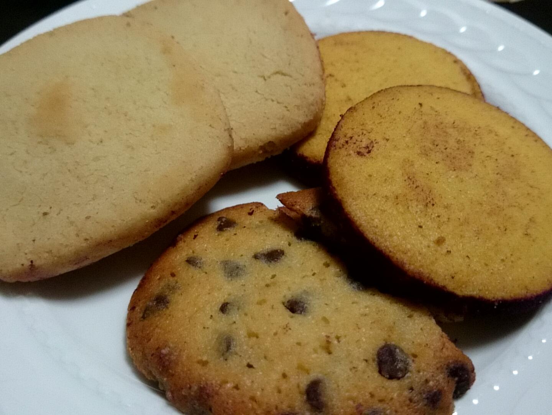 どのクッキーも美味