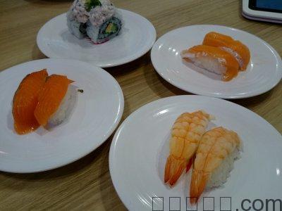 オレンジっぽいお寿司が好きなのかも