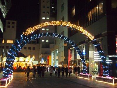 ドイツ・クリスマスマーケット大阪2017入り口