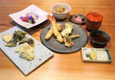 「グルテンフリー天ぷら」のコース