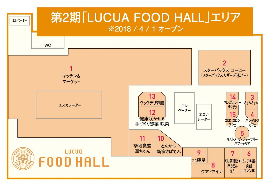 LUCUA-FOOD-HALL-MAP