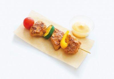 味噌マヨ鶏と彩り野菜のブロシェット