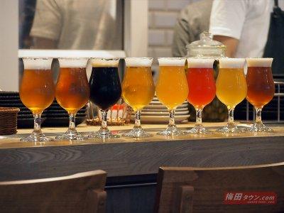 クラフトビールは8種類