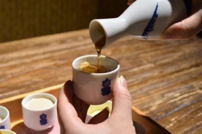 ほうじ茶ソースをお好みで