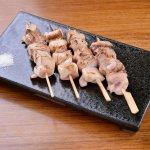 『モモ串焼き4種食べ比べ』980円