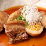 じっくり煮込んだ天恵美豚のラフテー(角煮)