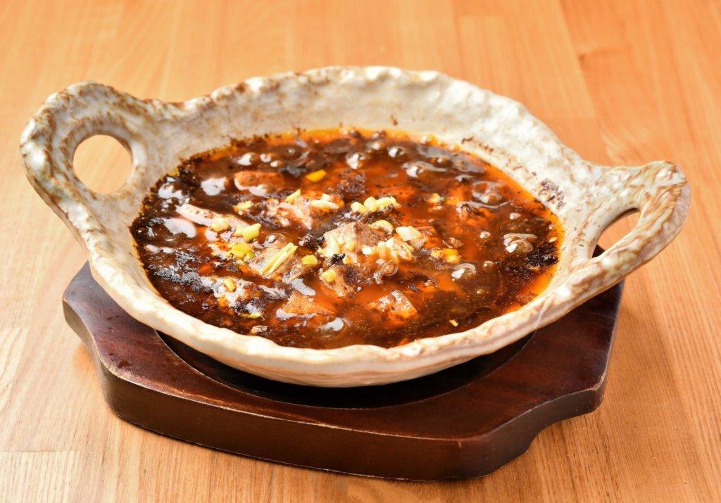 土鍋の四川麻婆豆腐